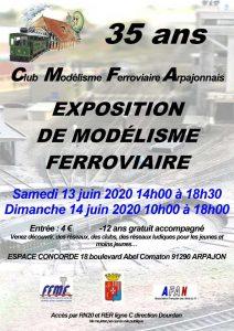 CMFA - Exposition Modélisme Ferroviaire Arpajon