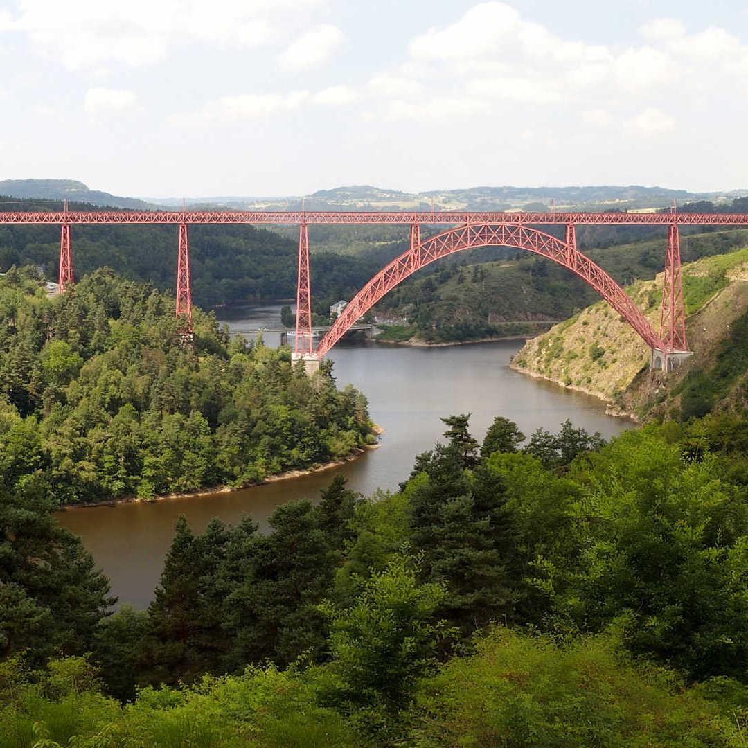 Un Regard Sur Le Rail - Viaduc du Garabit
